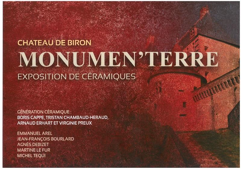 "Exposition d'art contemporain : ""Monumen'Terre"
