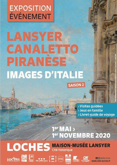 Lansyer, Canaletto et Piranèse – Images d'Italie