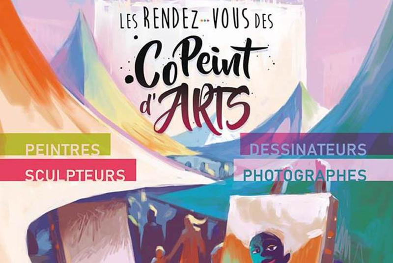 Rendez-vous des CoPeints d'ArtThe painter's meeting in Auray