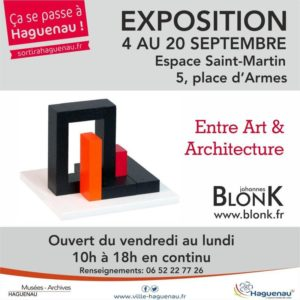 BlonK - Entre Art & Architecture