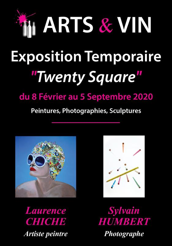 Exposition Art Contemporain Twenty Square