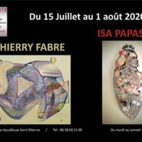 Exposition Thierry Fabre et Isa Papasian