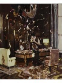 Adrian Ghenie : the Darwin Room, 2013-2014