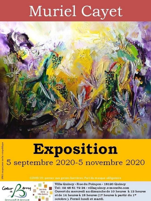 Exposition Muriel Cayet