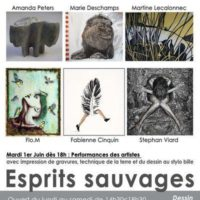 EXPOSITION ESPRITS SAUVAGES