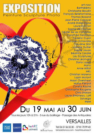 Exposition d'art collective Brins d'heART